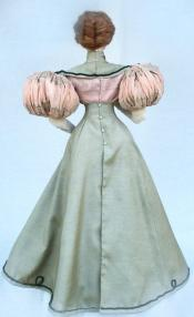 Click to enlarge image  - Lady Kathryn Mold Set - 1895 Gored Skirt, Bodice with puffed sleeves