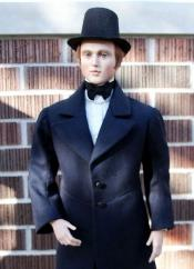 Click to enlarge image  - Lord Christopher Mold Set - 1850's Frock Coat with Trowsers, Shirt and Vest
