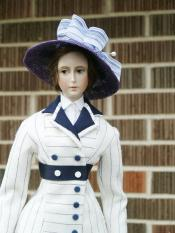 Click to enlarge image  - Lady Marion 17 inch Mold Set - 1912 Rose's Boarding Suit