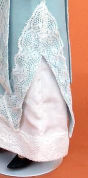 Click to enlarge image  - Lady Marion 17 inch Mold Set - 1911 Dress of Chiffon and Lace