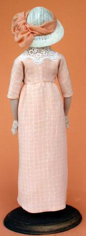 Click to enlarge image 1912 Wrap-around Dress of Silk - Pattern # 99