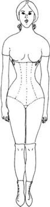 Click to enlarge image <p align=&#39;center&#39;><font size=&#39;-1&#39;><b>This is a sewing pattern</b></font></p><br /><br />Body Pattern for Fashion Plate Collection - Pattern 30