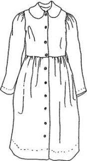 Click to enlarge image Old Fashion Country Dress - Pattern 7