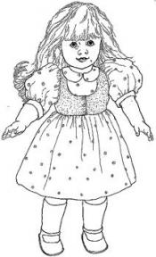Click to enlarge image Classic Dress w/ Puff Sleeves & Vest that fits American Girl - Pattern 48